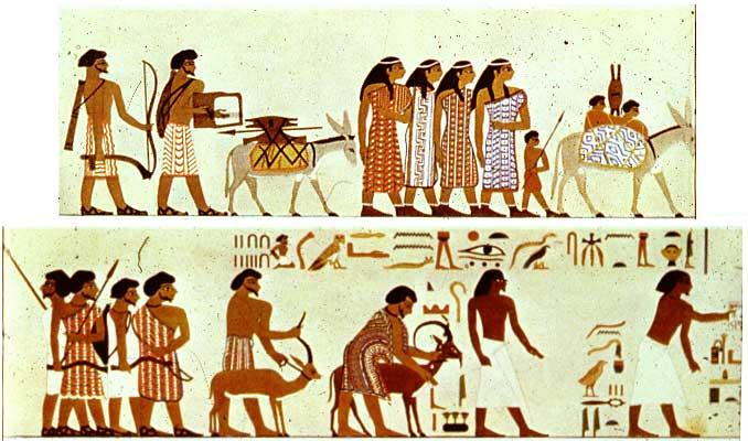 Beni-Hasan Mural