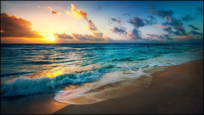 Calming The Waves In The Sea And The Soul