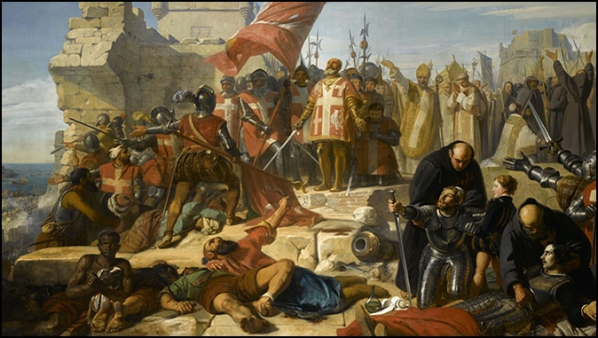 """The """"Image Of Hell"""": Islam's Siege Of Malta"""