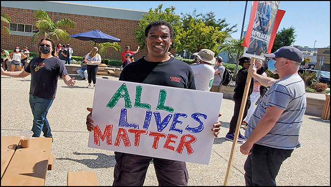 MassResistance Overwhelms Black Lives Matter Protest In Los Angeles Suburb