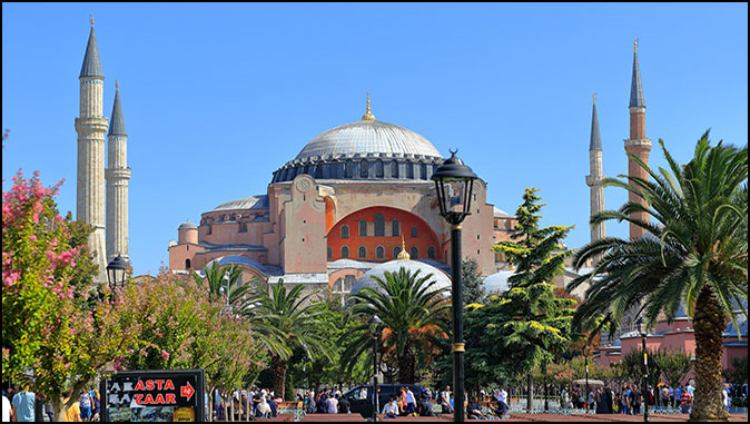 """Turkey's Hagia Sophia: """"It's Like If Saint Peter's Had Been Turned Into A Mosque"""""""